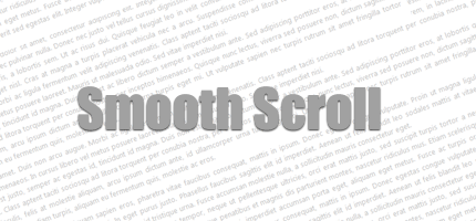 Smooth Scroll Demo